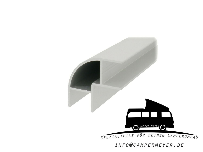 Aluminiumprofil für Möbelbau: 90° Ecke / beideitig offen