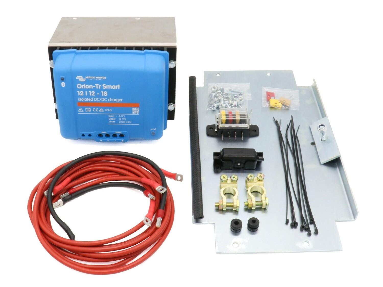 2.Batterie Nachrüstsatz VW T6 EURO6 / Ladebooster 18A