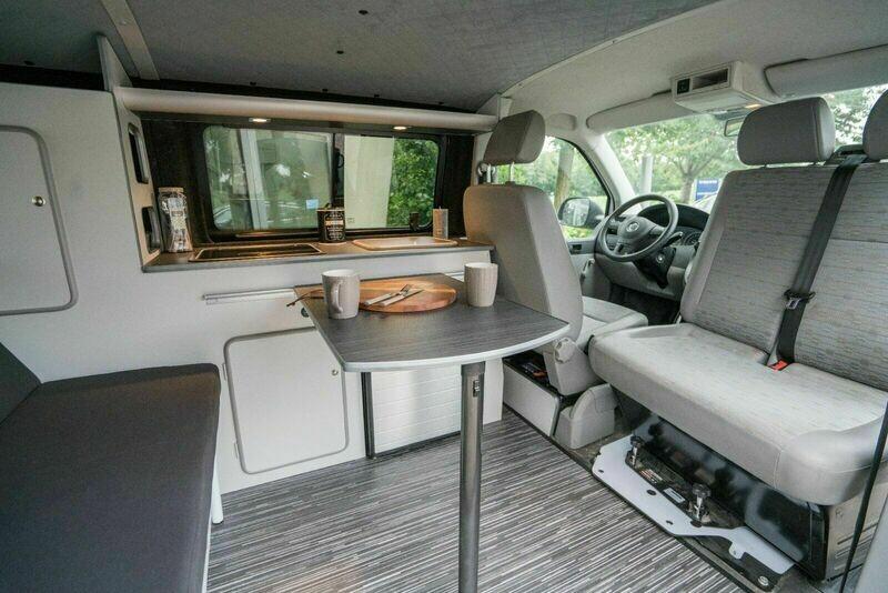 Drehkonsole VW T5/T6 (Doppelsitzbank)