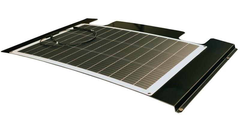 130 Watt Solarmodul inkl. Träger VW T5 T6