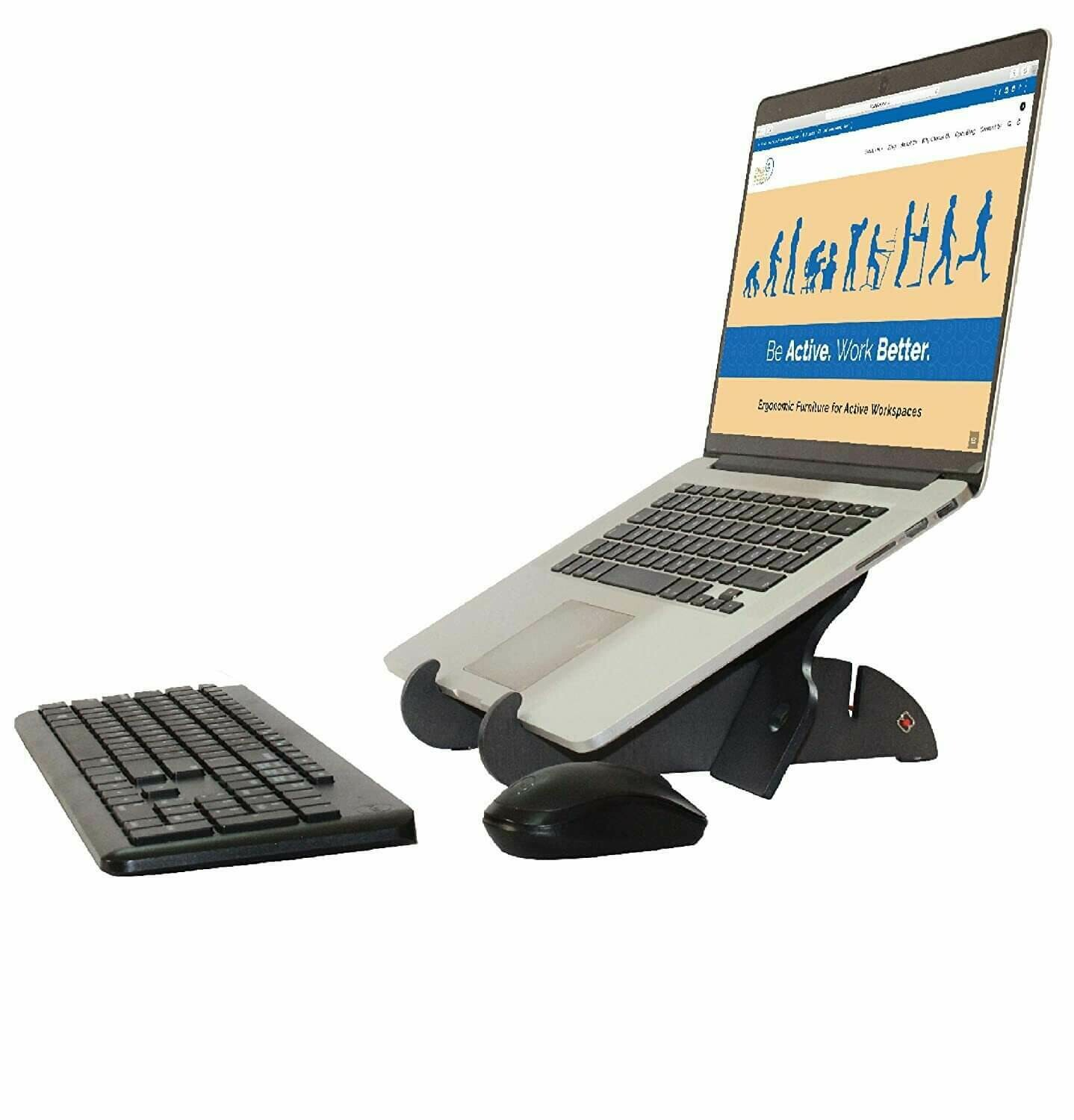 Opus AriseGo Portable Ergonomic Stand for laptops, tablets, and mobiles