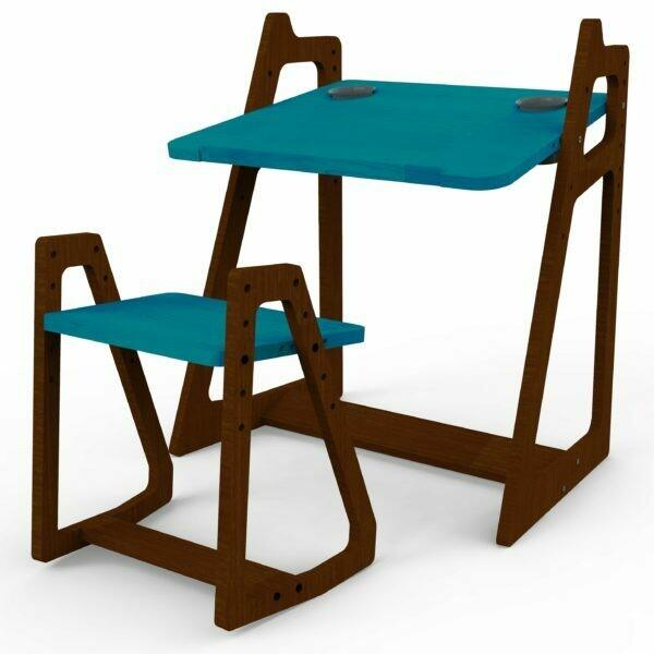 Opus MyRa Height Adjustable Kids Table and Seat Set.
