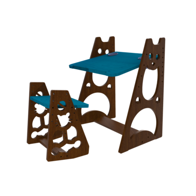 Opus MyRa Height Adjustable Kids Table and Seat Set