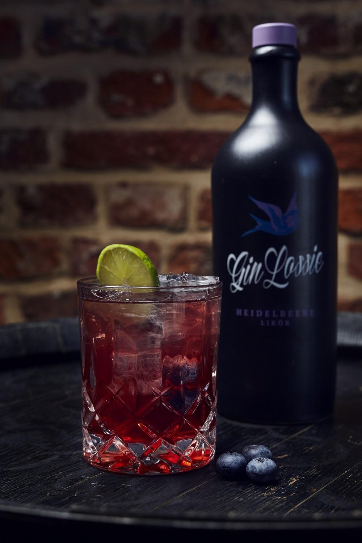 Gin Lossie Heidelbeere Likör Paket
