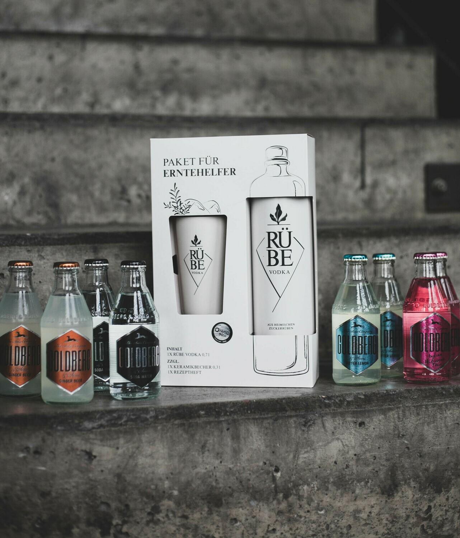 RÜBE Vodka Geschenkpaket / Tasting-Set