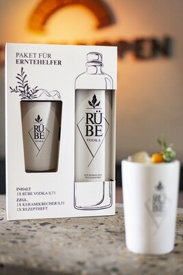 "RÜBE Vodka  ""Erntehelfer-Paket"""