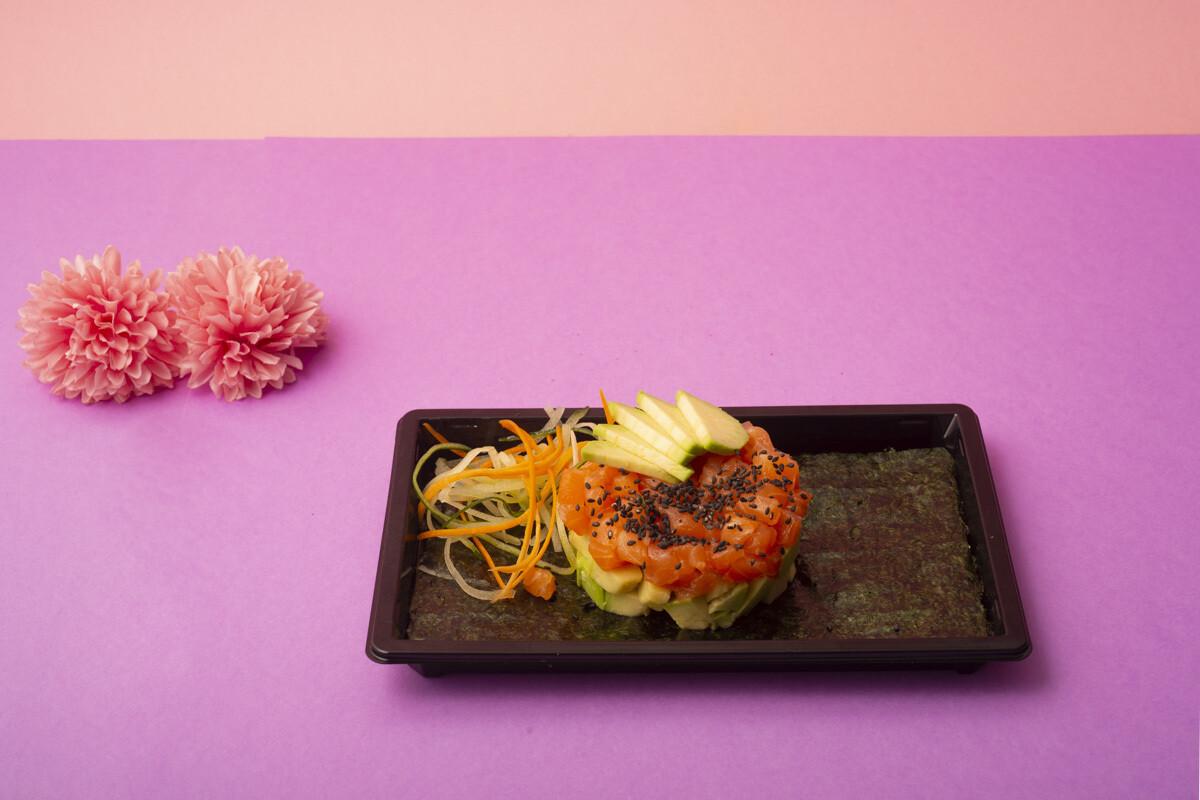 Sake tartare
