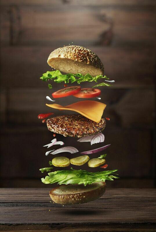 Crea il tuo burger (chips non incluse)