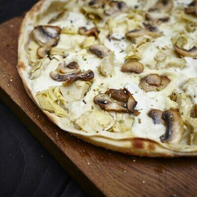 Funghi e Mozzarella