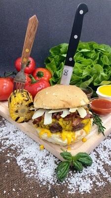 Burger Carbonara