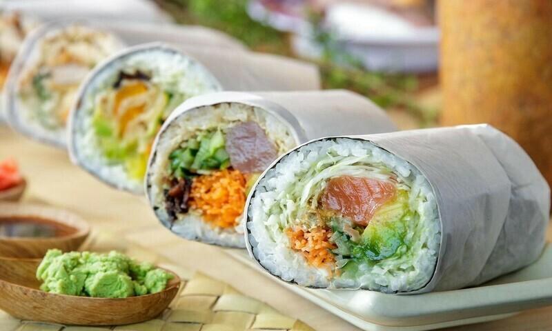 Crea il tuo Sushi Burrito