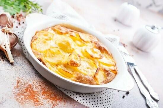 Toscaanse aardappelgratin