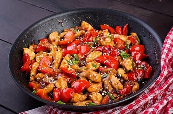 Black pepper stir fry chicken  1kg