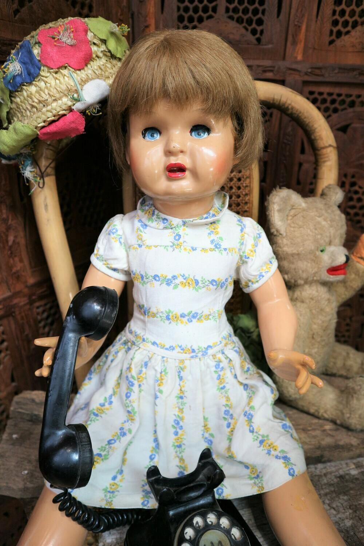 Muñeca Mariquita de escaparate o Purita FLORIDO