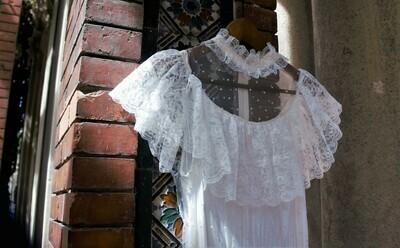 Vestido de Novia 70s