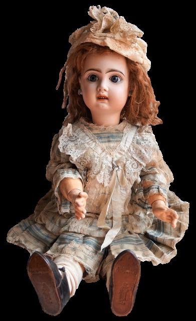 Antigua muñeca Tete Jumeau 53 cm