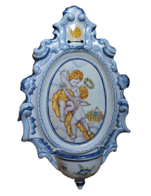 Benditera de cerámica Alcora