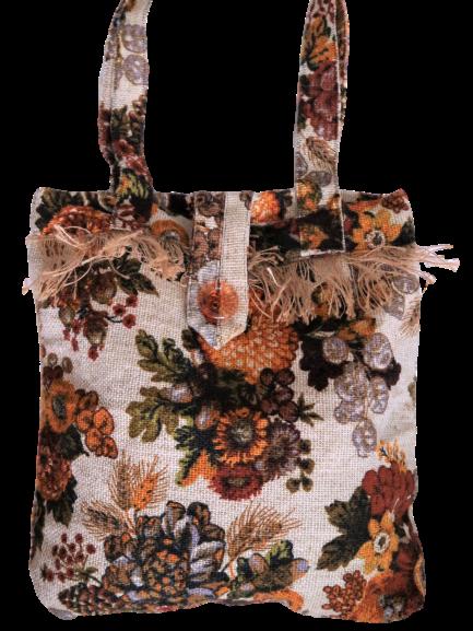 Bolso de tela Vintage / Vintage Tote Bag