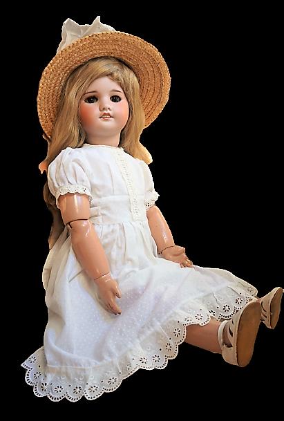 Muñeca antigua de porcelana SFBJ