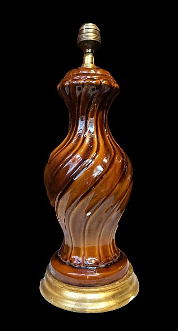 Lámpara de cerámica Manises 50s 60s