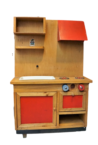 Cocina de madera años 70