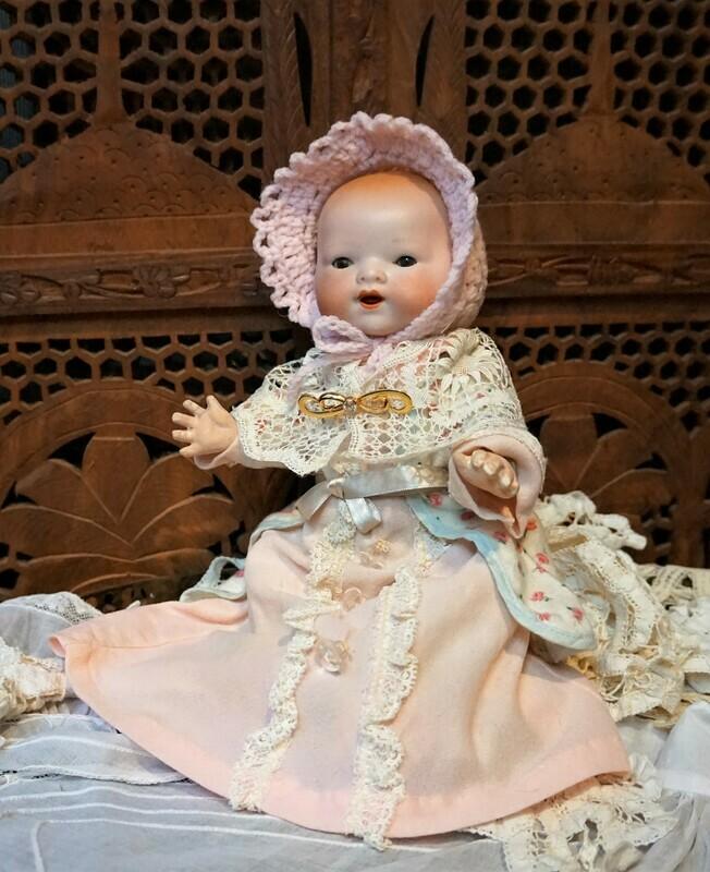 Muñeco antiguo alemán