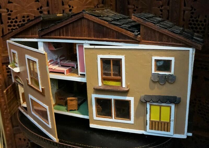 Casa de Muñecas Vintage 60s