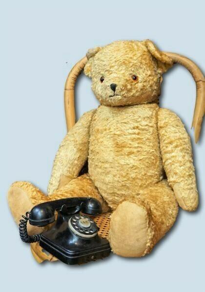 Antiguo Oso Teddy Bear