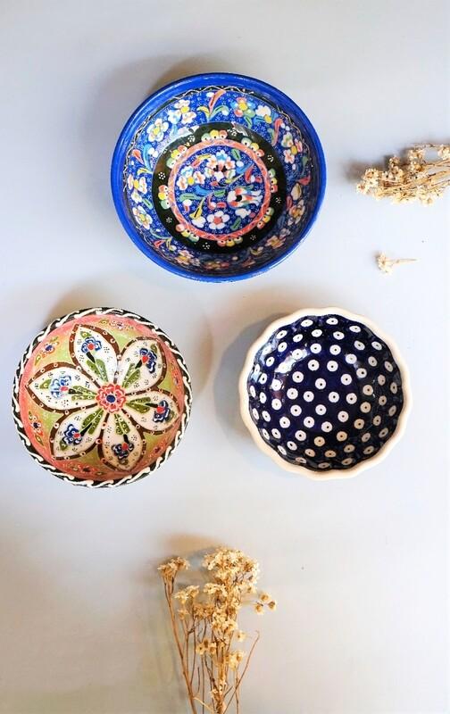 Set de cuencos artesanales
