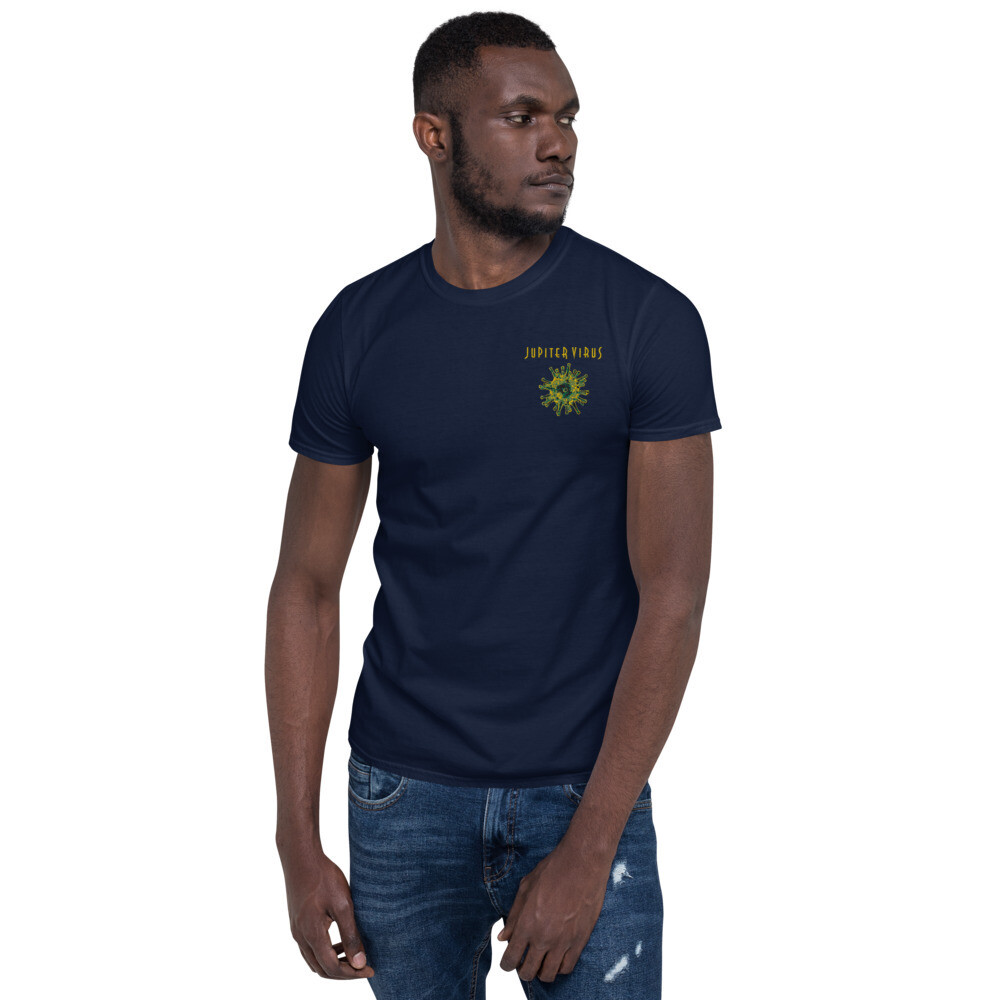 Jupiter Virus Short-Sleeve Unisex T-Shirt Embroidered logo