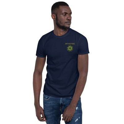 Jupiter Virus Short-Sleeve Unisex T-Shirt Embroidered logo