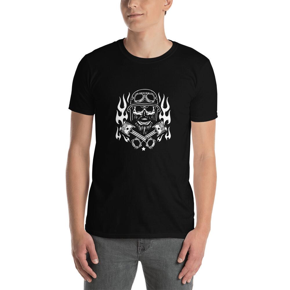 T-shirt unisexe Biker Skull