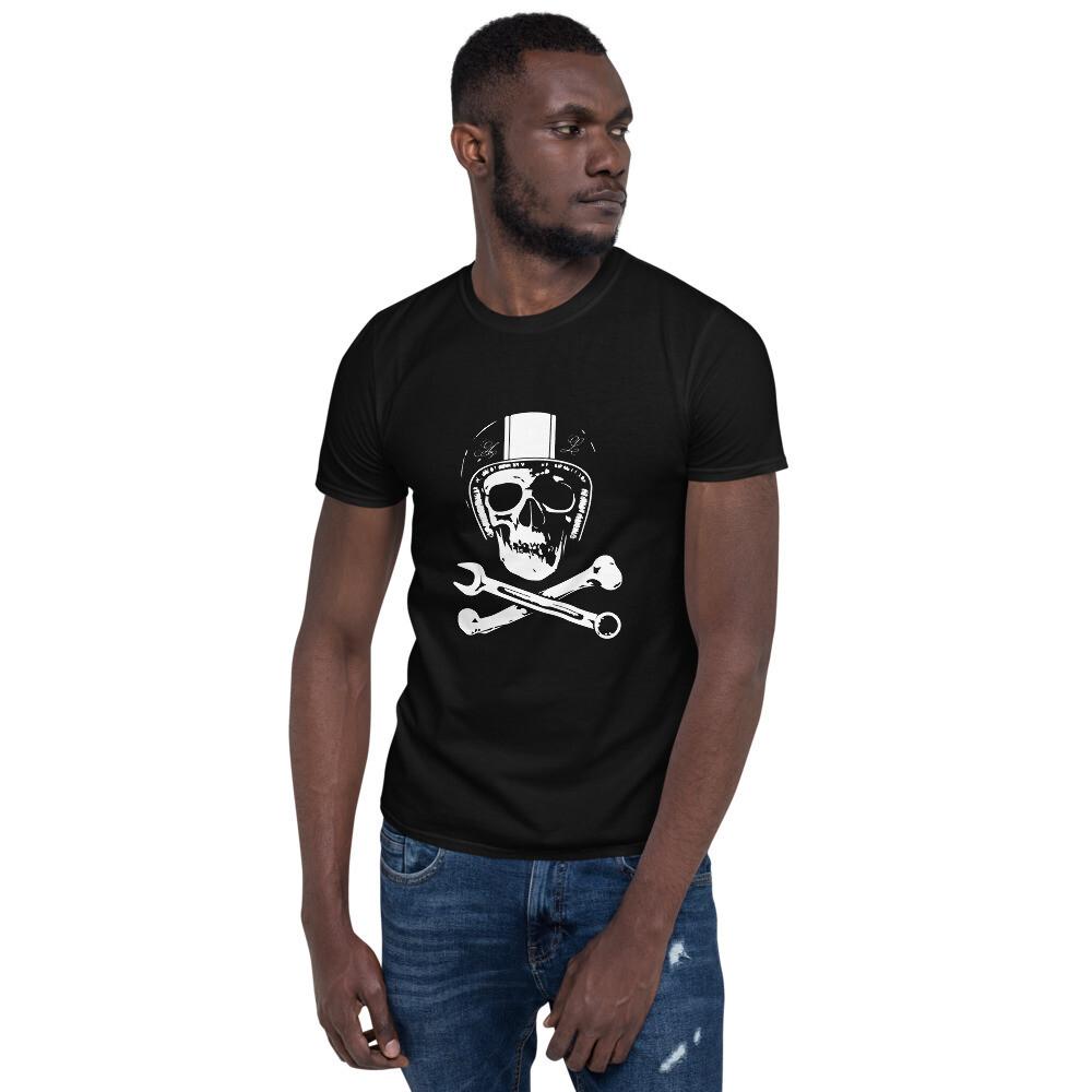 T-shirt unisexe Mecanik Skull