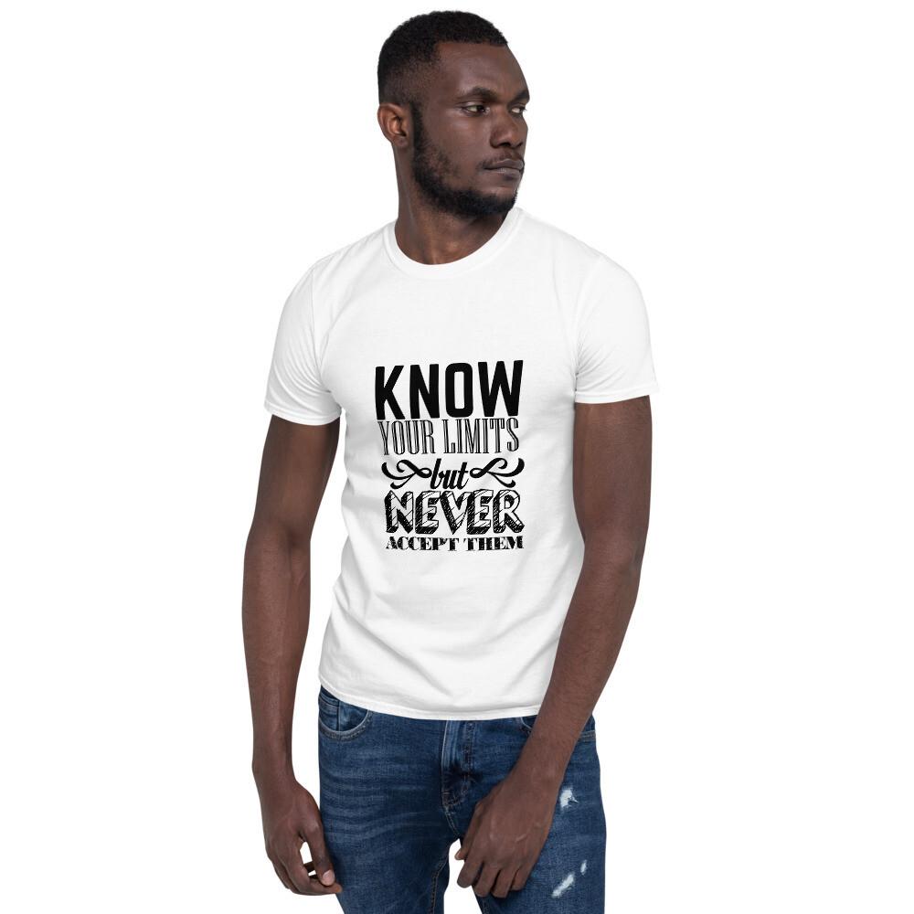 T-shirt unisexe Your Limits
