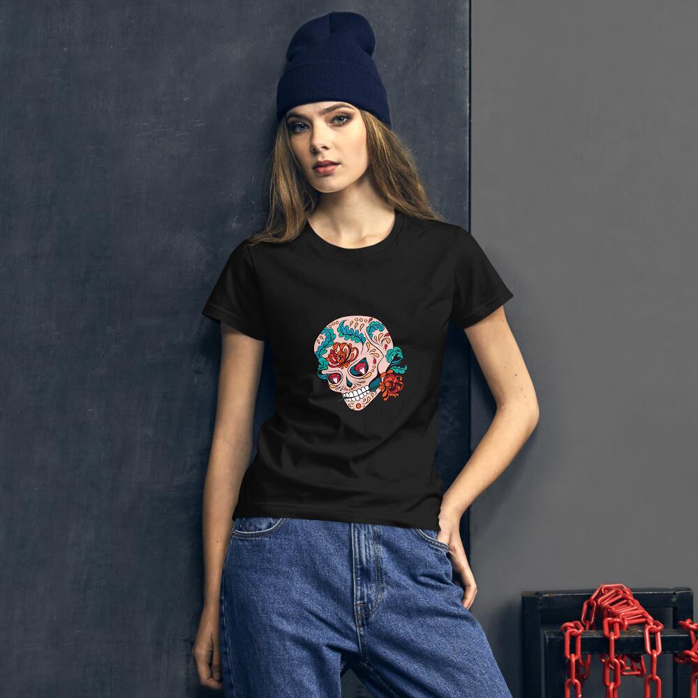 T-shirt femme Skull Girl