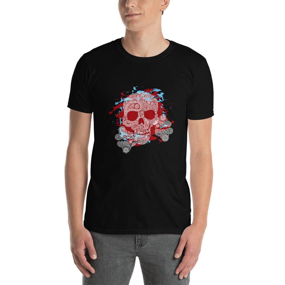 T-shirt unisexe Art Skull