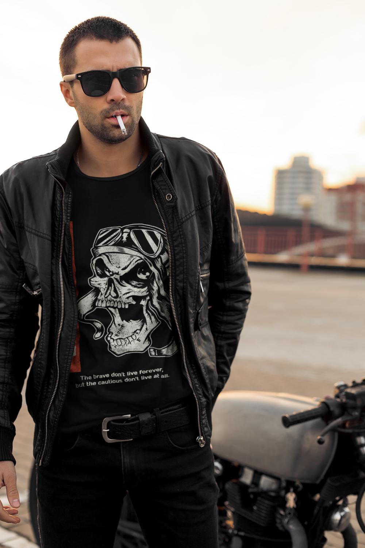 T-shirt Premium Skull Rider