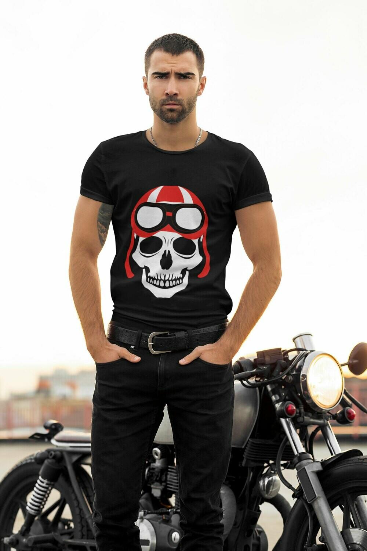T-shirt Unisexe en Coton Biologique Ghost Biker