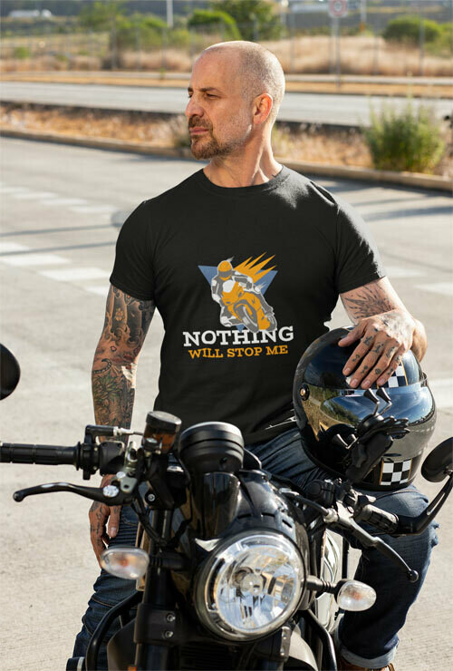 T-Shirt Unisexe Nothing Will Stop Me 1