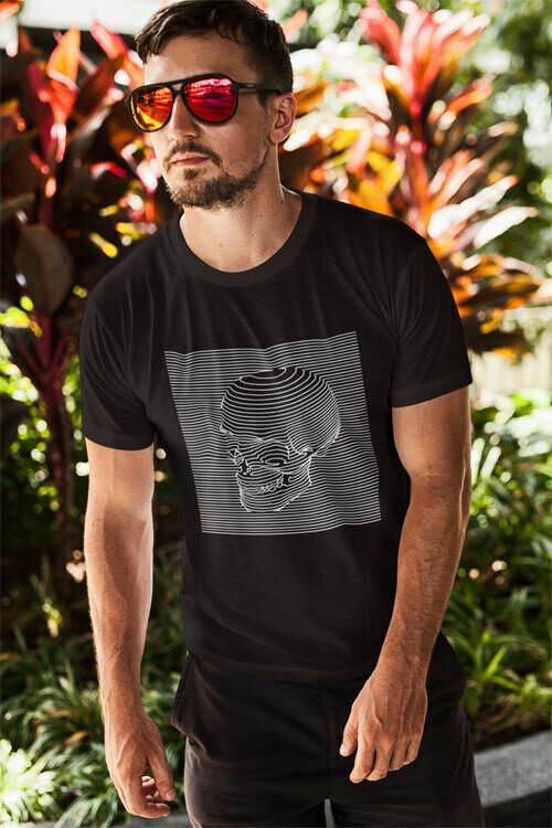 T-Shirt Skull Graf