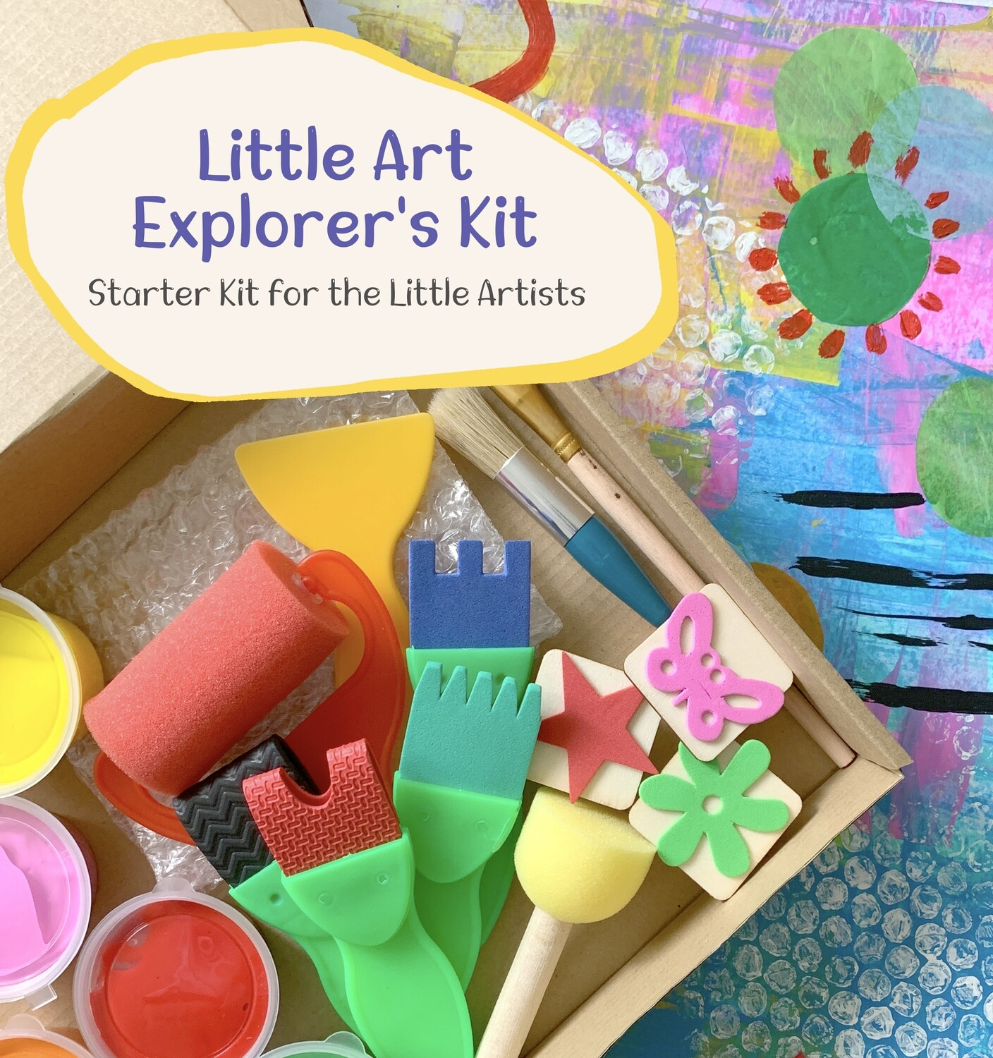 Little Art Explorer's Kit - Fun With Abstract