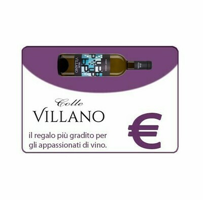 Carta Regalo Colle Villano