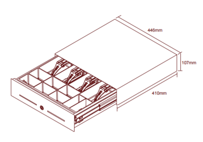 Kassalade SL3000 (gekoppeld)