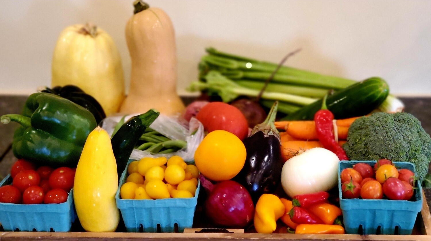 FALL PRODUCE BAGS - 4 SEMI-WEEKLY DELIVERIES (Select Size - Price Varies by Bag Size ($65-$125)