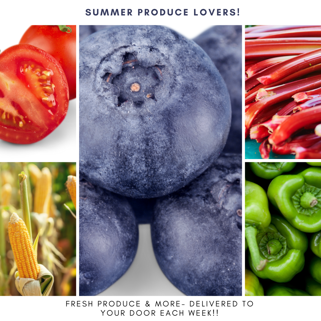 Summer Produce Lover's Bags - EVERY OTHER WEEK starting June 10th - AUG 19th (6 Total Deliveries!  B-BLOCK Schedule Delivery)