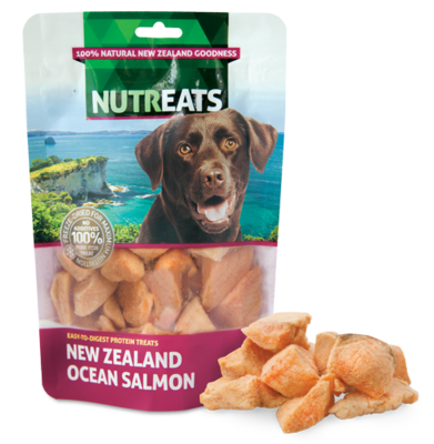Nutreats Freeze Dried Ocean Salmon 50g