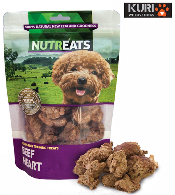 Nutreats Freeze Dried Beef Hearts 50g
