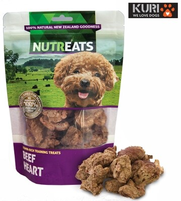 Nutreats Freeze Dried Beef Hearts 50g