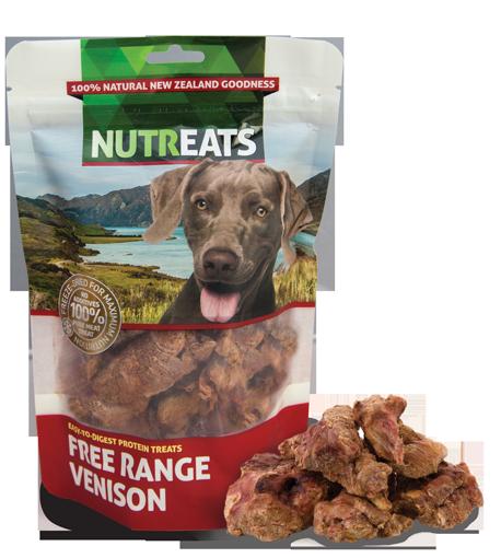 Nutreats Freeze Dried Free Range Venison 50g