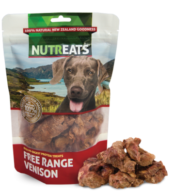 Nutreats Freeze Dried Free Range Venison 50g